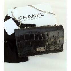 Sac Chanel Collector's Noir Alligator et Python