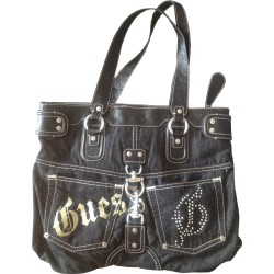 Grand sac à main jean Guess